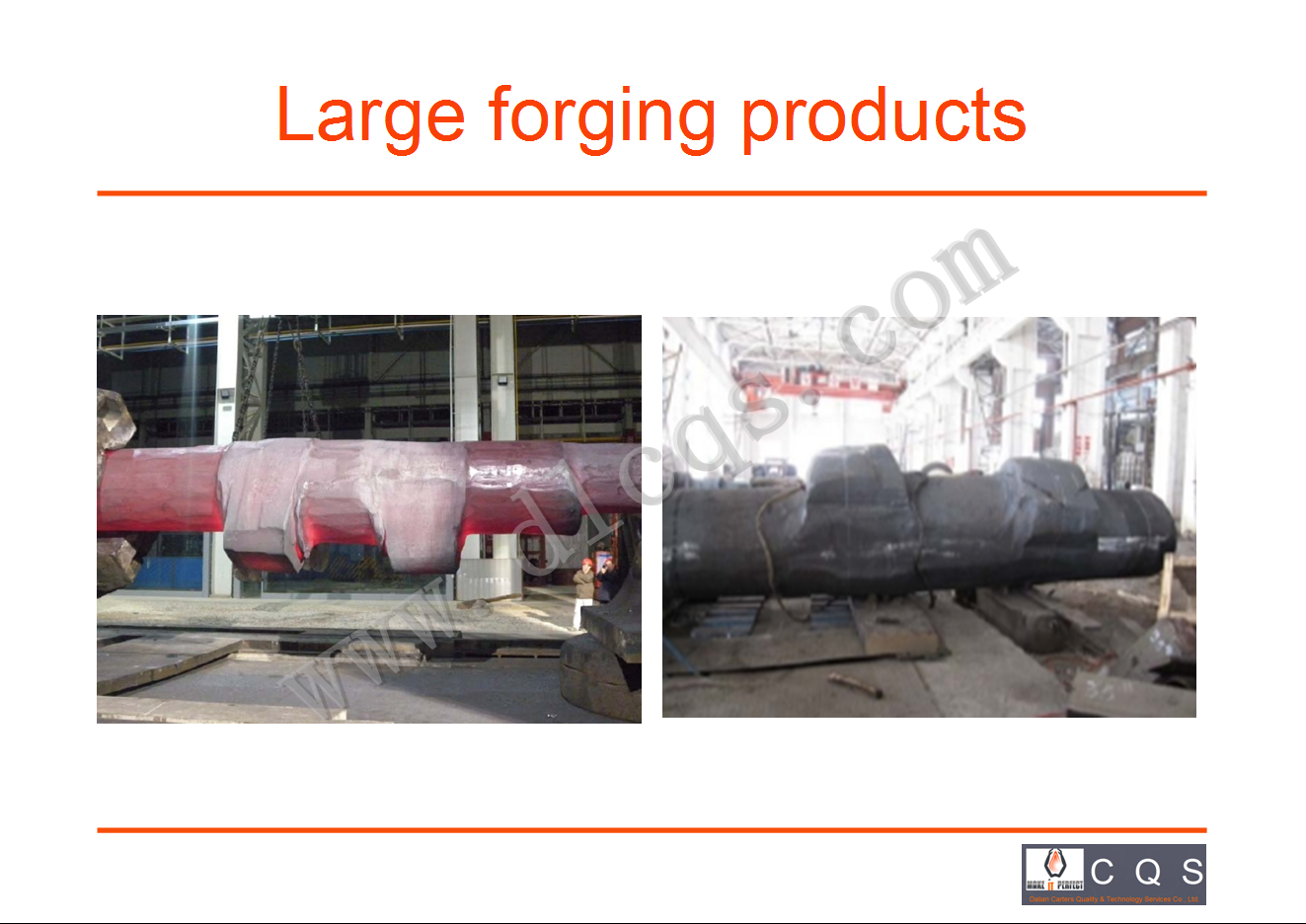 LARGE FORGING PRODUCTS