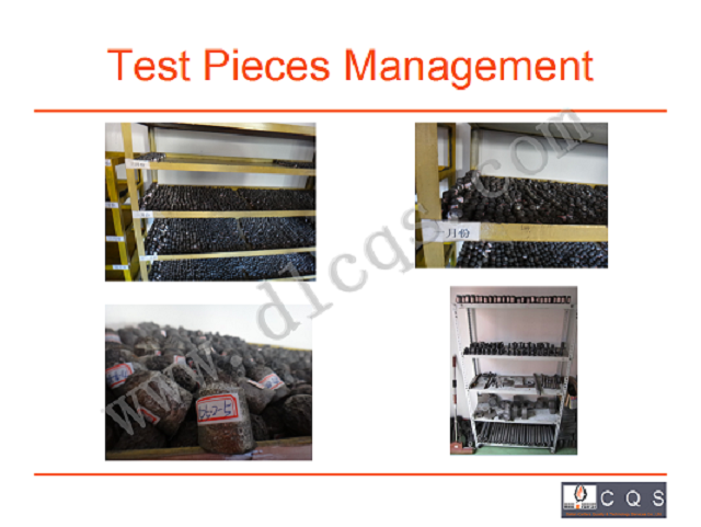 STANDARD SAMPLES MANAGEMENT