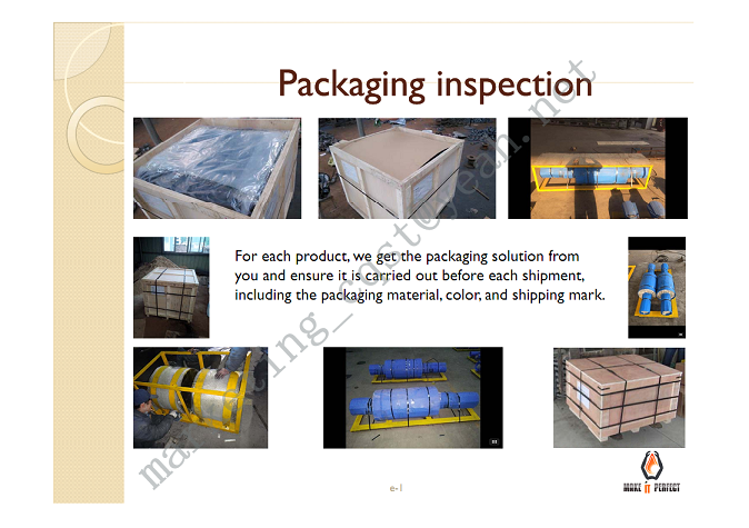 PACKAGING INSPECTION